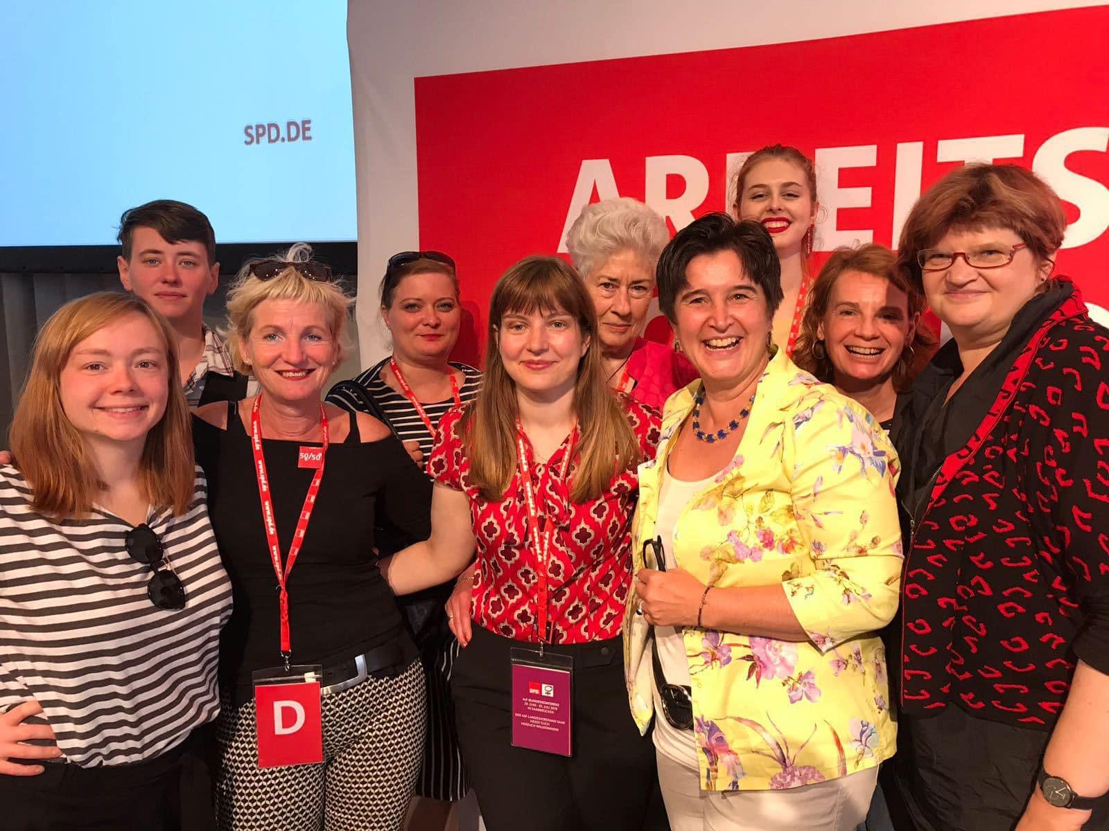 ASF Berlin mit Maria Noichl